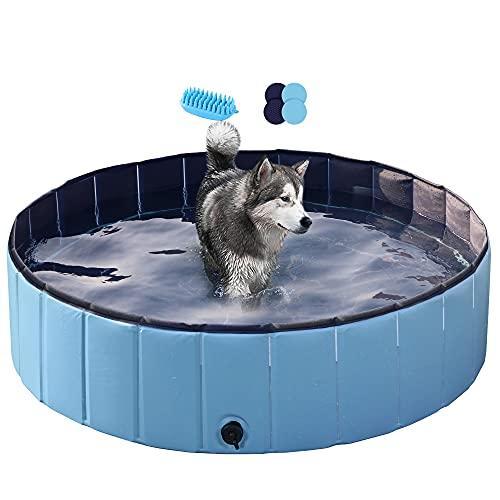Yaheetech Hundepool Swimmingpool Planschbecken Badewanne...