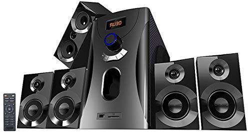 auvisio Homecinema 5.1: Home-Theater Surround-Sound-System 5.1,...