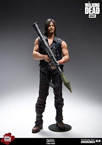 The Walking Dead Deluxe 10' Actionfigur Daryl Dixon Rocket Launcher. Detailreiche Actionfigur...