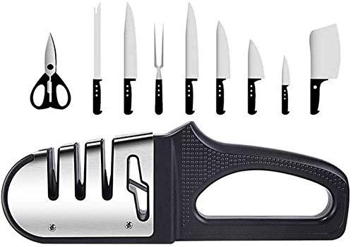 XUERUIGANG Messer- und Schere-Spitzer, Küche professionell 4 in...