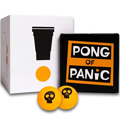 PONG OF PANIC - Beer Pong Trinkspiel - Witzige Aufgaben unter...
