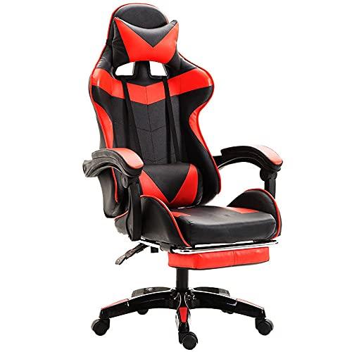 SHUI Gaming-Stuhl Für Bürocomputer Spiel-Stuhl Mit Versenkbarer...