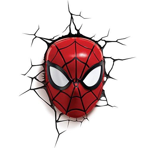 Light 816733002224 Spiderman FX Licht Marvel Spider-Man 3D Deco...