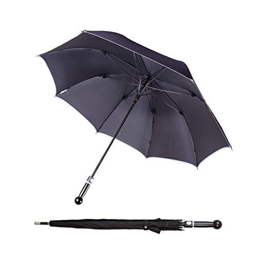 Sicherheitsschirm Bodyguard Regenschirm   Spazierstock zur Abwehr...