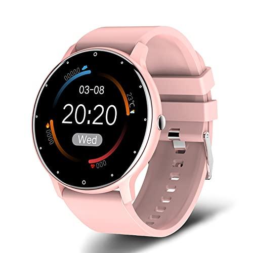 Smartwatch, 1, 2 Zoll Armbanduhr mit personalisiertem Display,...