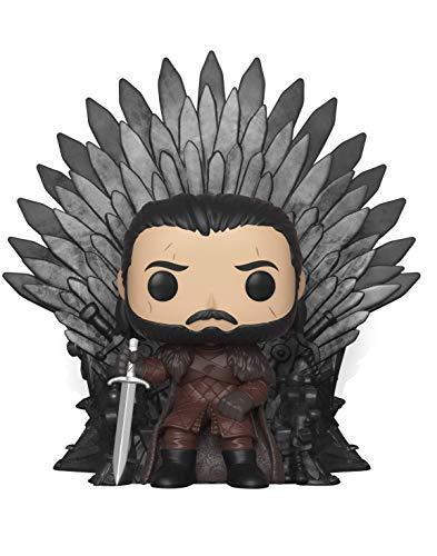 Funko Deluxe: Game of Thrones S10: Jon Snow Sitting on Iron...