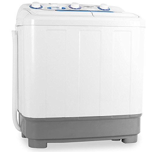 oneConcept DB004 - Mini-Waschmaschine, Camping-Waschmaschine,...
