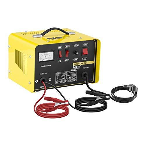 MSW Autobatterie Ladegerät Kfz Batterieladegerät S-CHARGER-50A...
