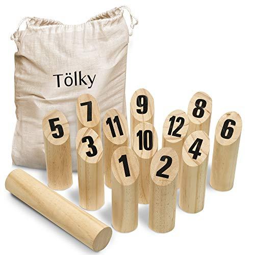 Toyfel Tölky Indoor & Outdoor Wurfspiel aus Finnland –...