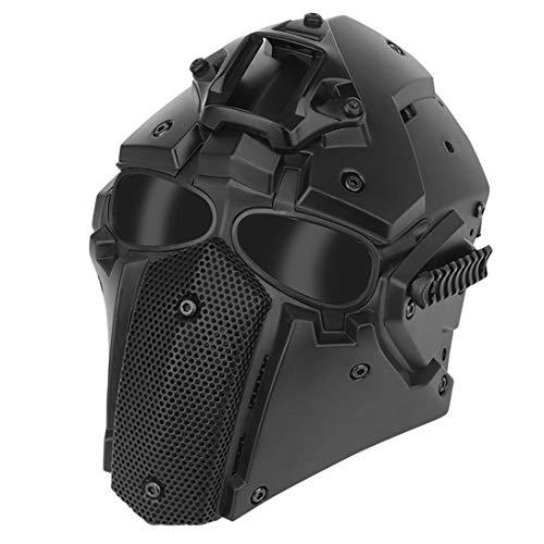 HYMAN Taktischer Helm Airsoft Maske Atmungsaktiver Schlagfester...
