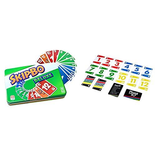 Mattel Games L3671 Skip-BO Deluxe in Metalldose Kartenspiel,...