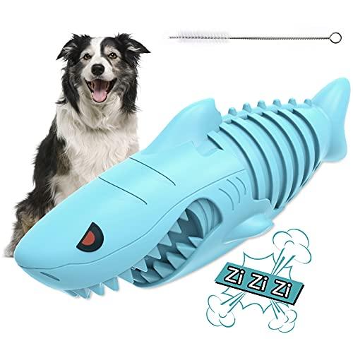 AUCHIKU Kauspielzeug Hund, Quietschspielzeug Hund Pet Molar Chew...