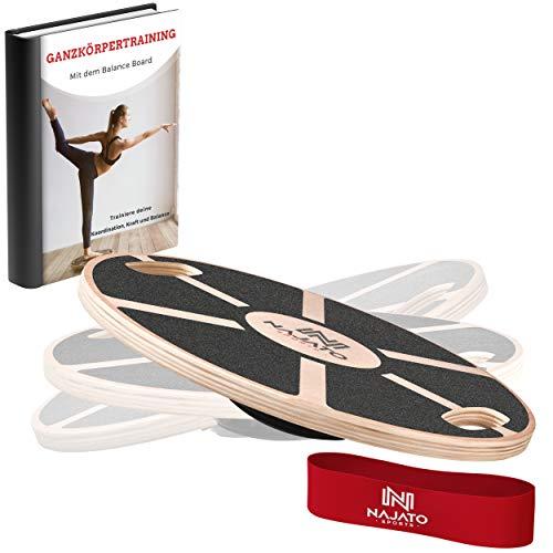 NAJATO Sports Balance Board – Wackelbrett mit rutschfestem...