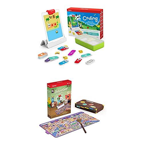 Osmo - Coding Starter Kit für iPad + Osmo Detective Agency Kit -...