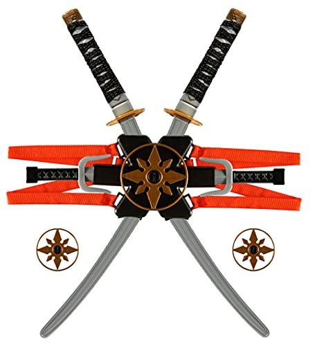 Ultimatives Ninja-Kunststoffschwert, 10-teiliges Set,...