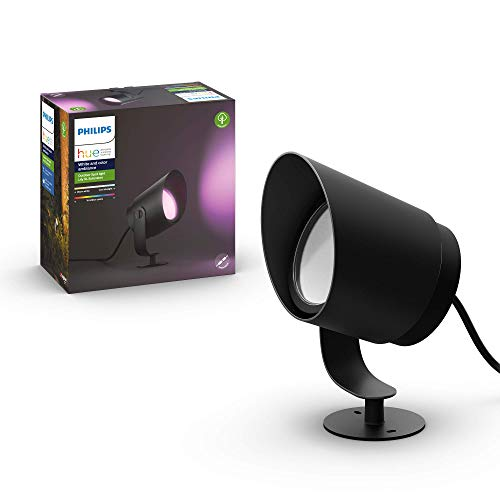 Philips Hue White and Color Ambiance LED XL Gartenstrahler Lily,...