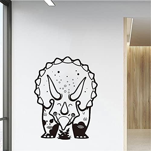 Cartoon Triceratops Dinosaurier Wandaufkleber Große Jurassic...