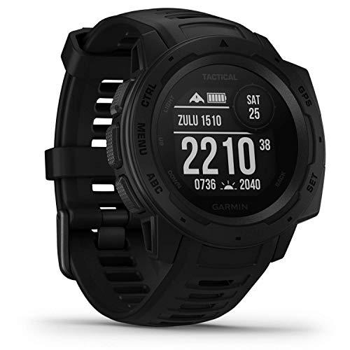 Garmin Instinct Tactical - robuste GPS-Smartwatch mit taktischen...