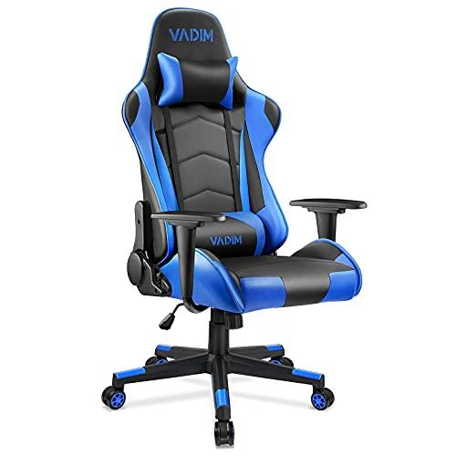VADIM Gaming Stuhl Bürostuhl, Gamer Stuhl Ergonomischer...