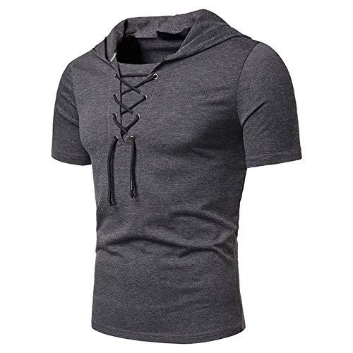 QWERT Herren T-Shirts Sommer Kurzarm Rundhals 3D Digitaldruck...
