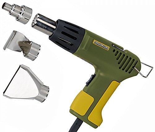 Proxxon 27130 MICRO-Heißluftpistole MH 550 mit 3 Zusatzdüsen