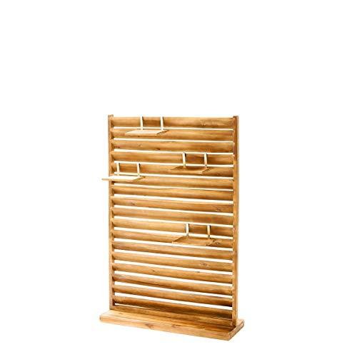 Garten Sichtschutz - Paravent - Freistehend - Holz - ca. 80 x 120...