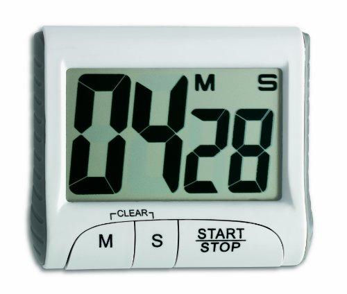 TFA Dostmann Digitaler Timer, 38.2021, Stoppuhr, klein und...