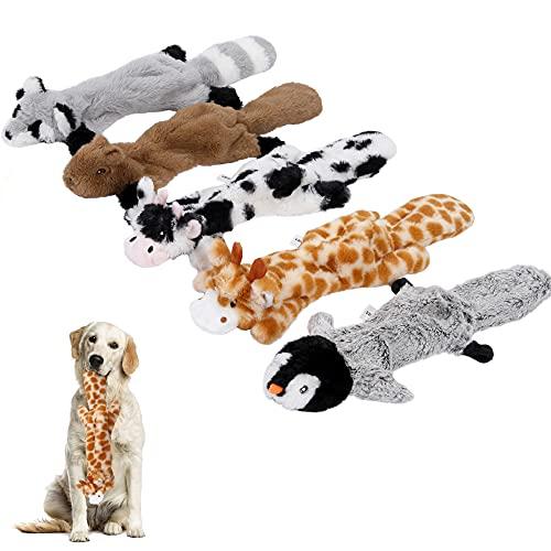 Iokheira Hundespielzeug Quietschend,Füllungsfreie Spielzeug für...