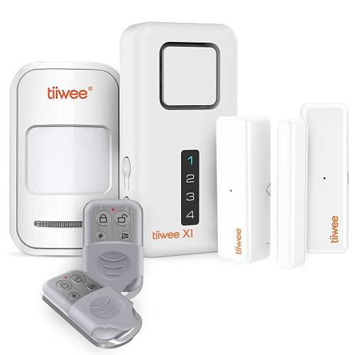 tiiwee Home Alarm System Kit X1 XLPIR - Alarmanlage mit 2...