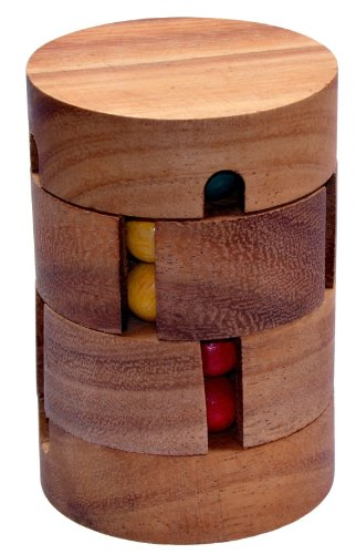 LOGOPLAY Revolve - Zauberwürfel - Dreh-Puzzle - Kugelpuzzle -...