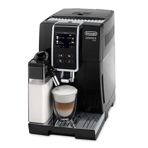 De'Longhi Dinamica Plus ECAM 370.70.B Kaffeevollautomat mit...