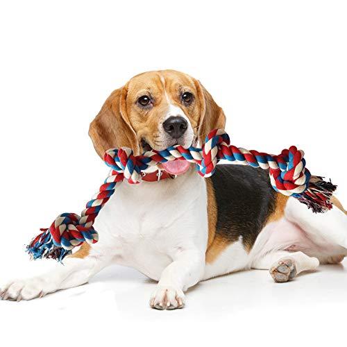 GHEART Hundeseil Spielzeug, Hundespielzeug Seil Hund Tau Spieltau...