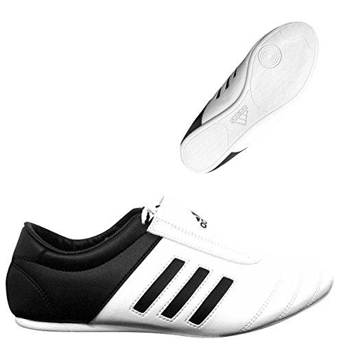 adidas Herren Kampfsportschuhe, Weiß Weiß/Schwarz Größe: 38.5