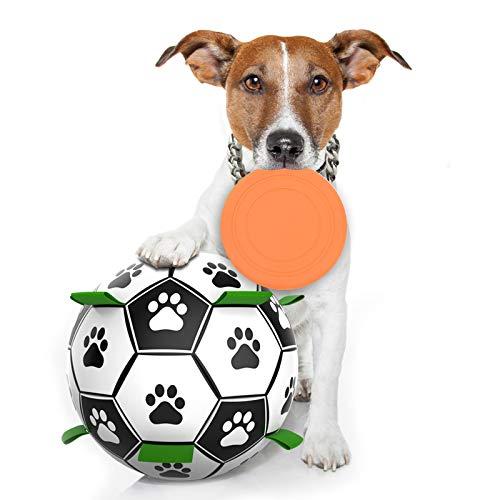 FONPOO Hundespielzeug, Hundefußball Intelligenzspielzeug für...