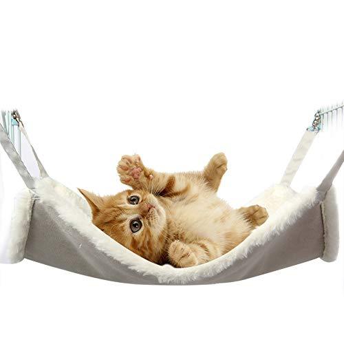 IEUUMLER Comfortable Hängematte Haustier Kätzchen Decke Käfig...