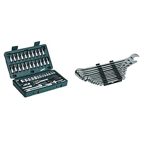 Brüder Mannesmann Werkzeug M 2040 Steckschlüsselsatz 1/4',...