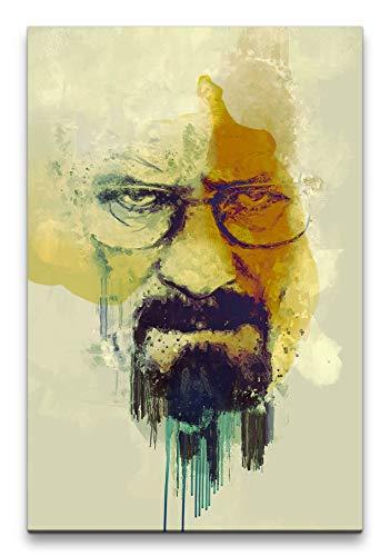 Breaking Bad Walter White Porträt Abstrakt Kunst Kultserie...