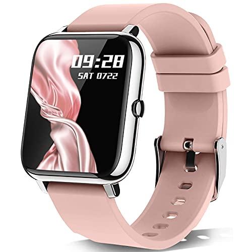 Smartwatch, KALINCO 1.4 Zoll Touch-Farbdisplay mit...