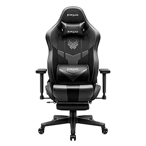 Kirogi Gaming Stuhl, Gaming Sessel mit Fußstütze, Ergonomischer...