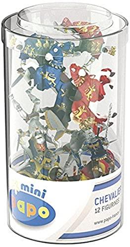 Papo 33016 Mini Ritter (Kunststoffbehälter, 12 Stück),...