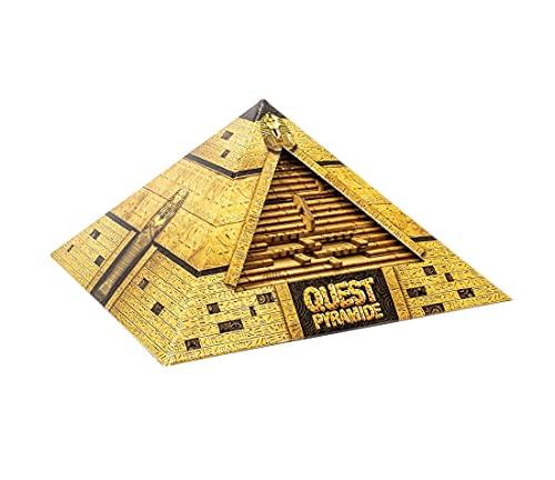 ESC WELT Die Quest Pyramid - Denkspiel Holz Puzzle Box Spiele...