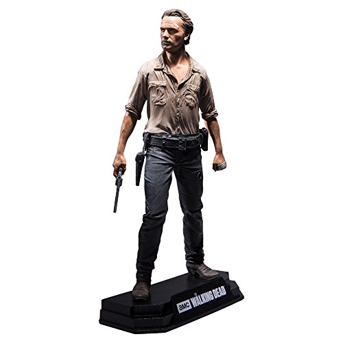 The Walking Dead - Rick Grimes Action Figure + Stand