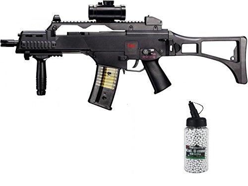 G8DS Set: HK Heckler & Koch G36 C AEG ELEKTRISCH Softair Gewehr...