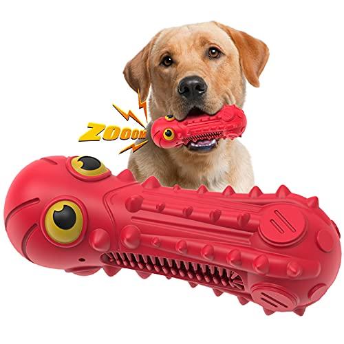 SUNNEKO Hundespielzeug, Unzerstörbar, Quietschend, Robust, sehr...