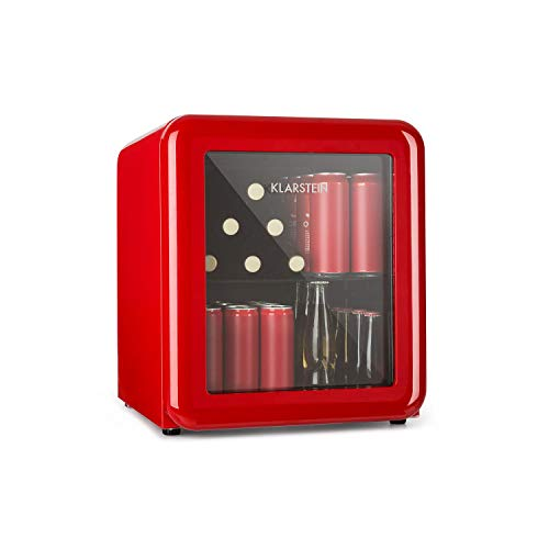 Klarstein PopLife Getränkekühler - Mini-Bar, Retrokühlschrank,...