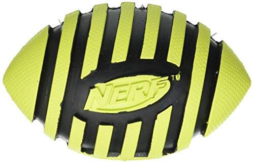 Nerf Dog Hundespielzeug Football aus Gummi mit Quietschgeräusch,...