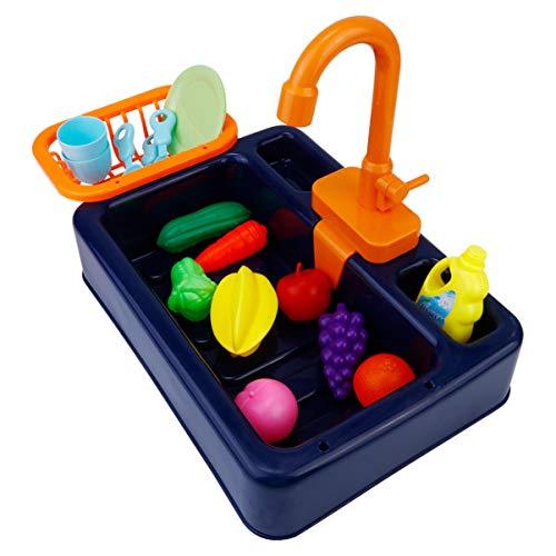NUOBESTY 1 Set Küchenspüle, Spielzeug für Kinder, elektrisch,...