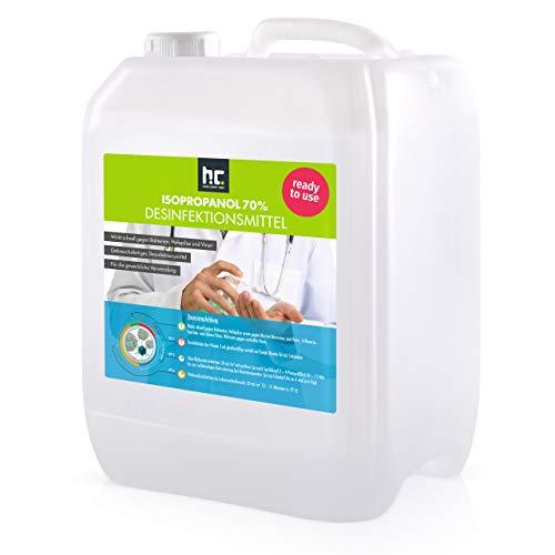 2 x 10 L Zugelassenes Desinfektionsmittel für Hände & Flächen...
