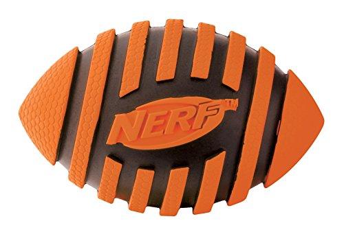 Nerf Dog Squeak Spiral Football: Ø 8,9 cm