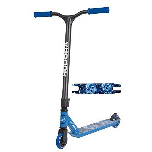 HUDORA Hudora_14025 StuntScooter XQ12, blau 14025 Freestyle...